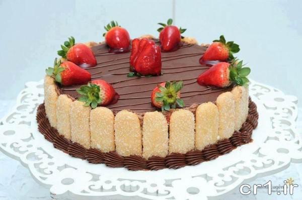 تزیین کیک تولد جدید