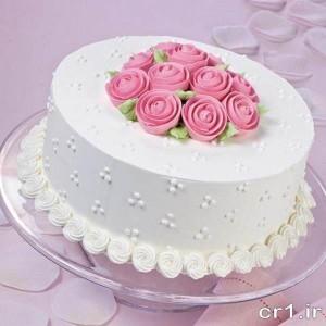 تزیین روی کیک تولد