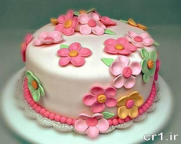 تزیین جدید کیک تولد