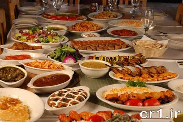 تزیین شام مهمانی جدید