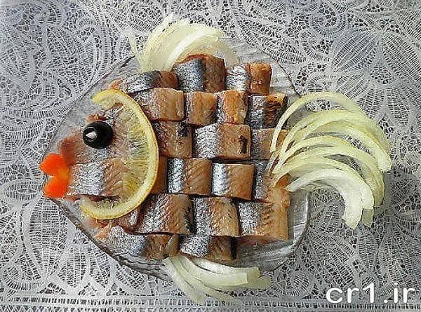 تزیین ماهی زیبا