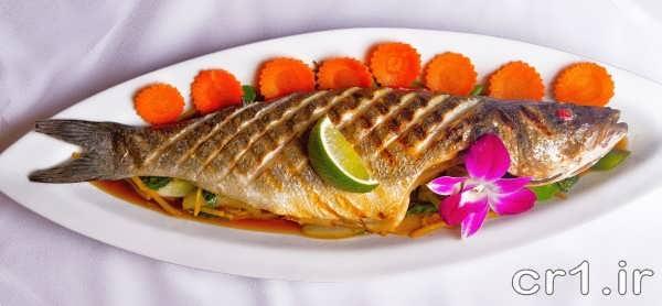 ماهی سرخ شده جدید