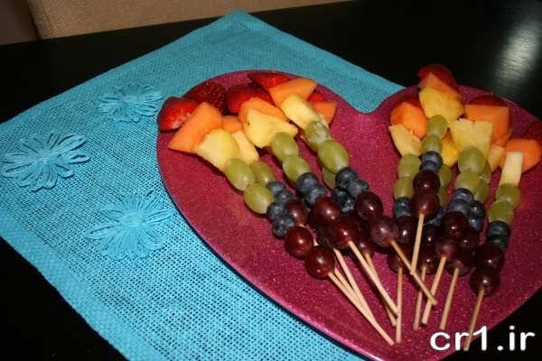 عکس تزیین میوه