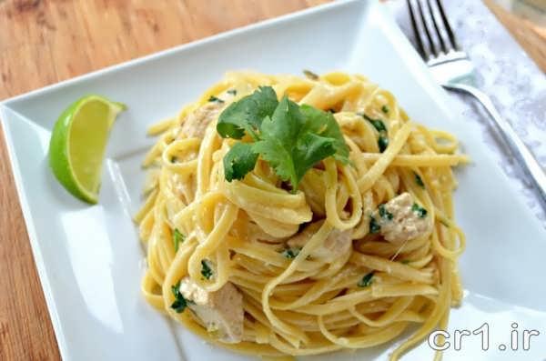 تزیین اسپاگتی