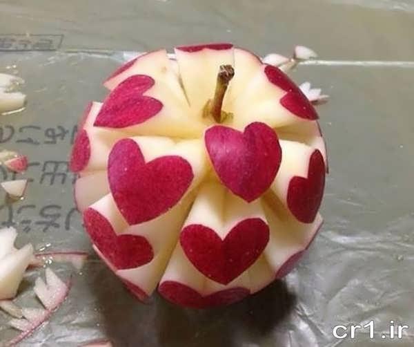 تزیین جدید سیب