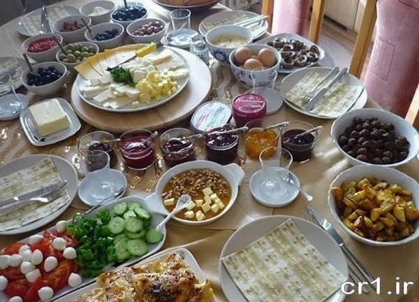 تزیین جدید صبحانه