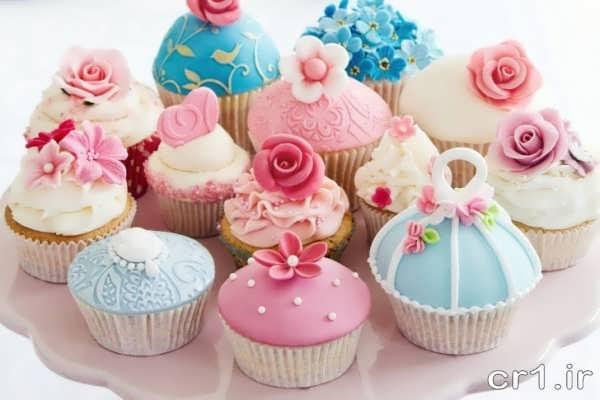 تزیین جدید کاپ کیک