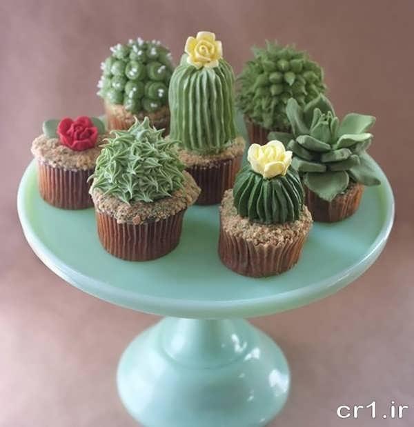 تزیینات کاپ کیک