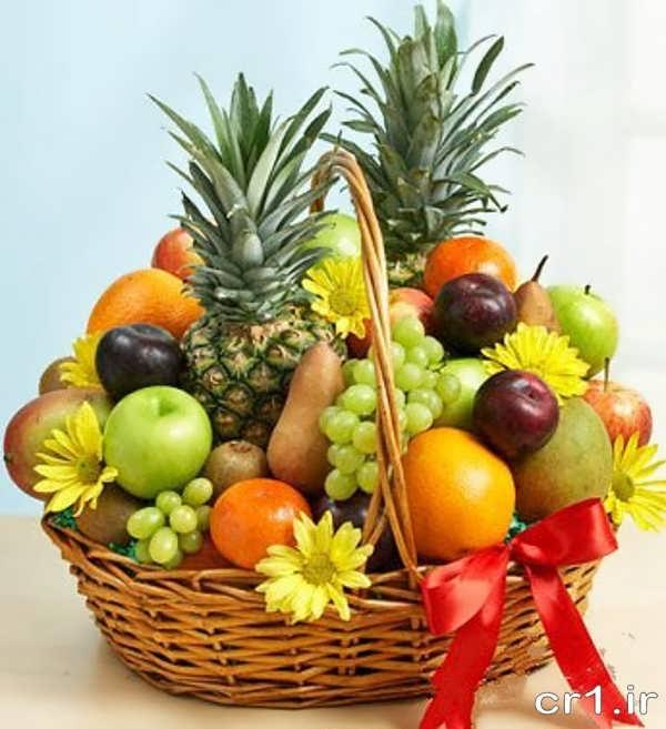 تزیین میوه برای مهمانی