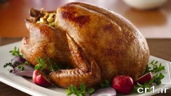 تزیینات زیبای مرغ مجلسی