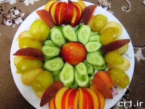 مدل جدید میوه آرایی