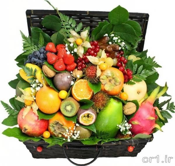میوه ارایی ساده