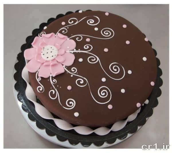 تزیین کیک با شکلات زیبا و جدید