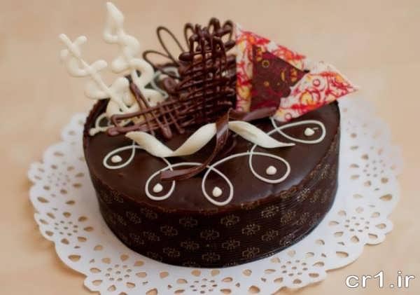 کیک شکلاتی زیبا و جدید برای تولد