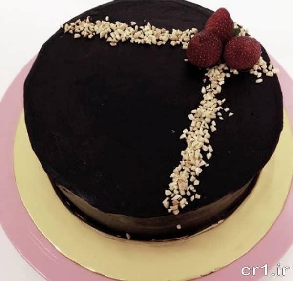 تزیین جدید کیک شکلاتی