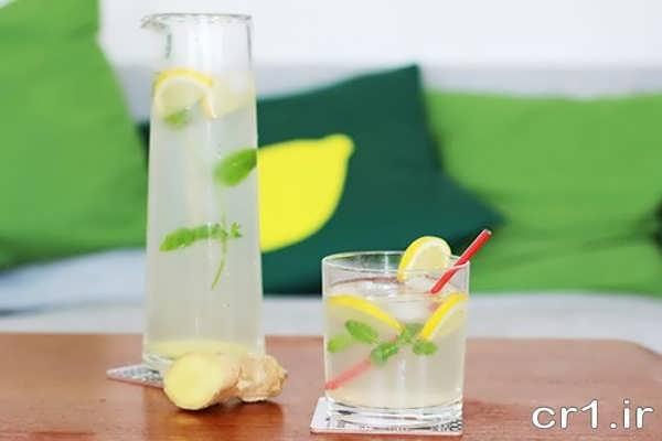 تزیین لیوان نوشیدنی تابستانی
