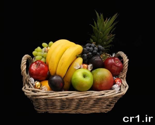 تزیین ظرف میوه برای پذیرایی