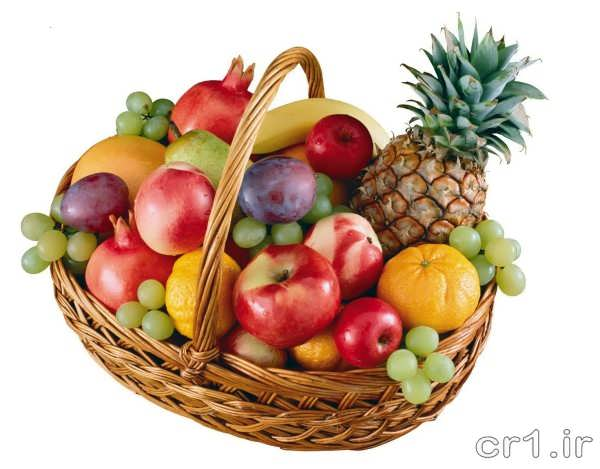 تزیین جدید سبد میوه