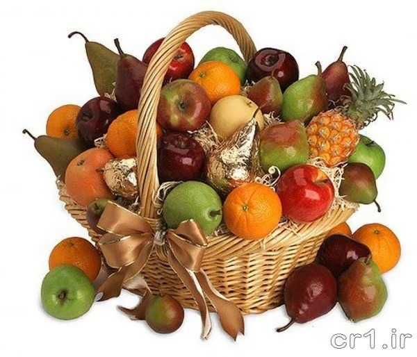تزیین میوه ها برای پذیرایی