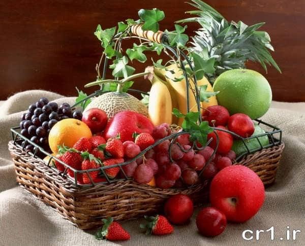 تزیین زیبای ظرف میوه برای پذیرایی