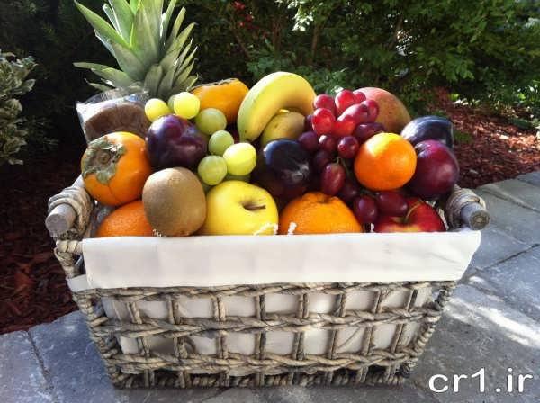 تزیین جدید میوه های شب یلدا