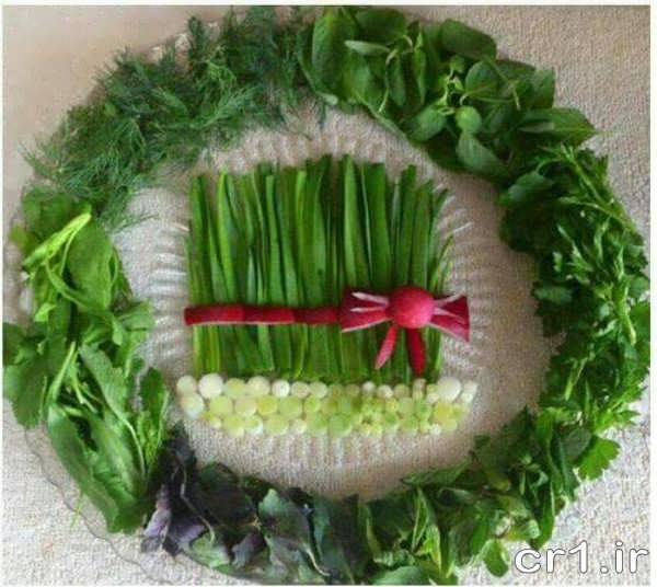 Decorated vegetables (12)