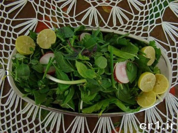 تزیینات جدید سبزی خوردن
