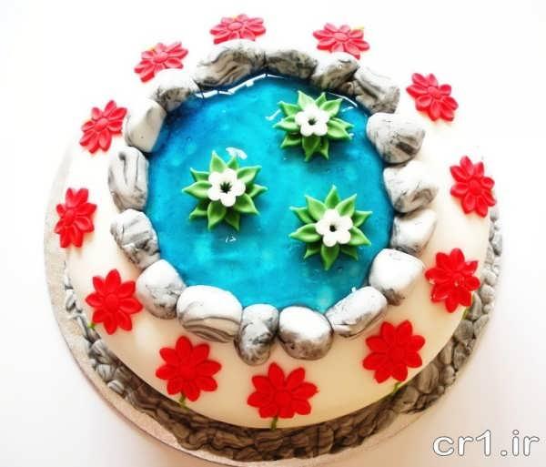 تزیین کیک تولد برای بچه ها