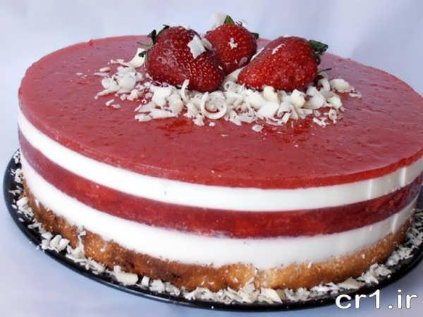 تزیینات جدید کیک تولد با ژله