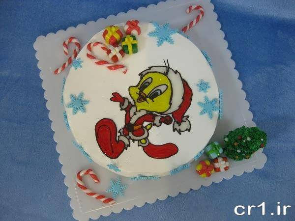 تزیین کودکانه کیک با ژله