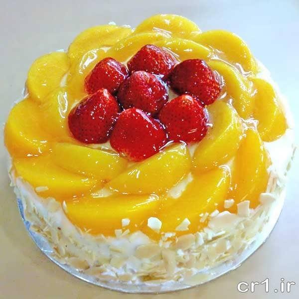 کیک ژله ایی تزیین شده جدید و زیبا