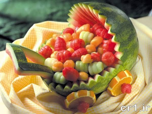 هندوانه به شکل کالسگه