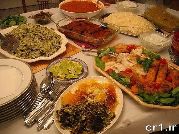 تزیینات جدید میز غذا