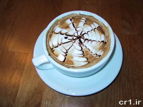 تزیین قهوه مجلسی