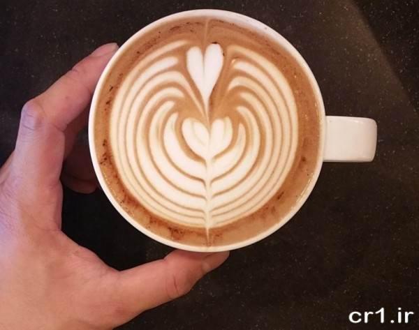 تزیین رمانتیک قهوه