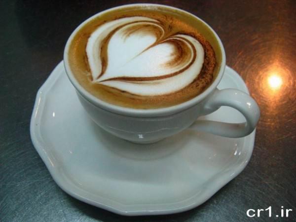تزیین زیبای فنجان قهوه