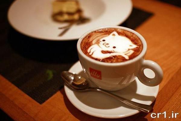 تزیین قهوه جدید برای پذیرایی