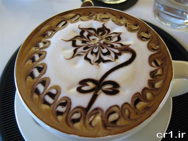 تزیین شیک قهوه برای مهمانی