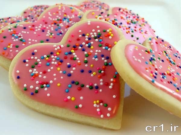 تزیین رمانتیک شیرینی