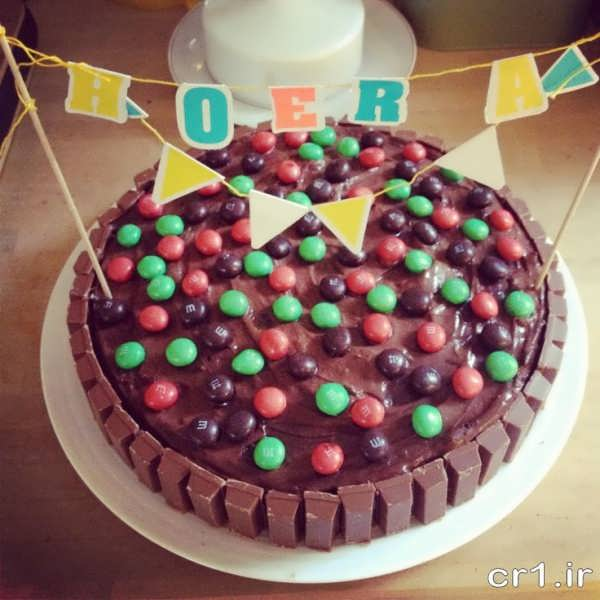 تزیین کیک خانگی زیبا و جالب