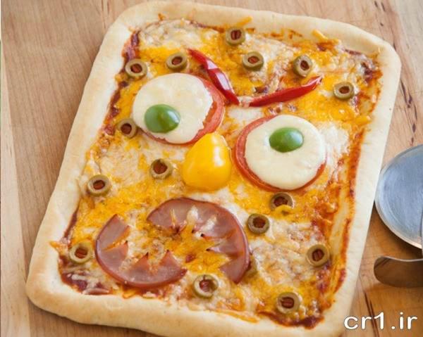 تزیین جدید پیتزا