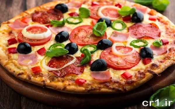 تزیینات پیتزا جدید و زیبا