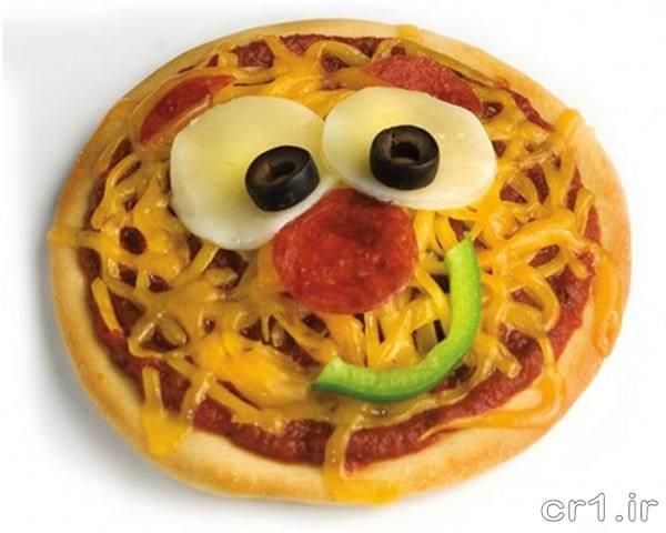 تزیینات پیتزا مخصوص کودکان