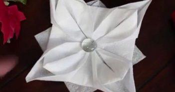 تزیین دستمال کاغذی جدید