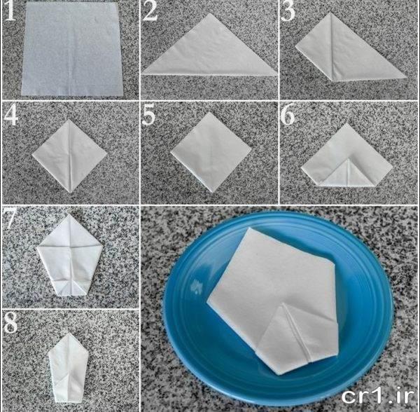 تزیینات جدید دستمال کاغذی