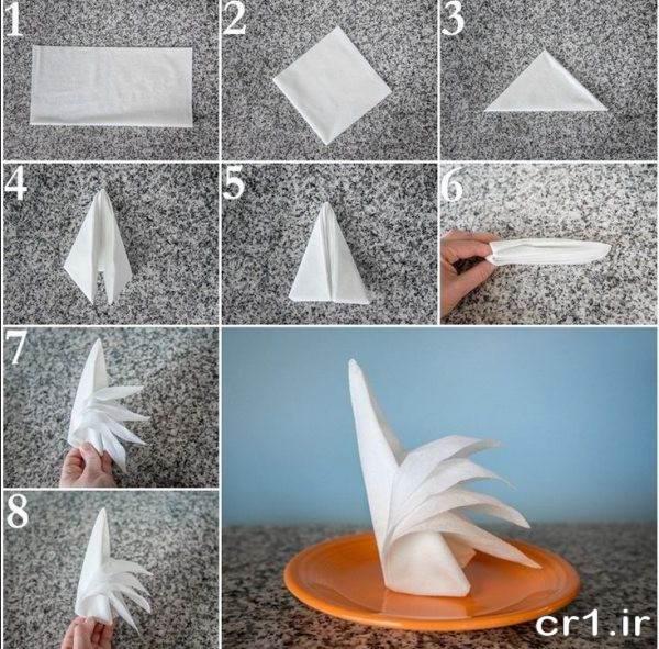 مدل تزیین دستمال کاغذی