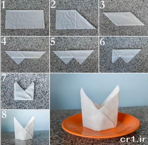 تزیینات دستمال کاغذی