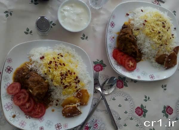 تزیین غذاهای ایرانی جدید