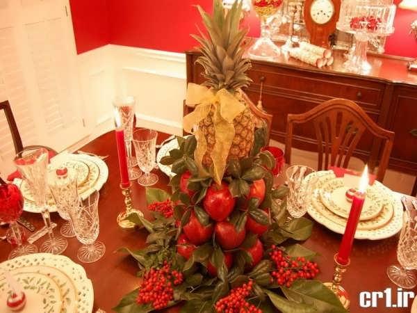 تزیین کردن آناناس برای شب یلدا