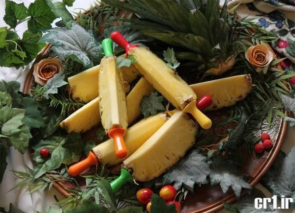 تزیین آناناس برای شب یلدا